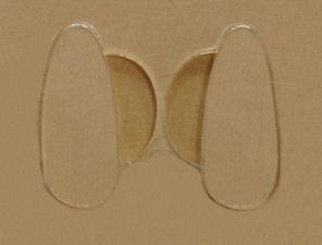 nose pads 17mm stick-on silicon 5 pair (Artikelnr.:128060)