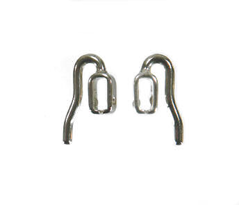Click nose pad nickel plated (vern.)